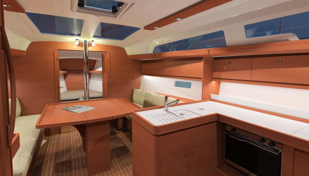 Aries vente location gestion de bateaux en manche for Amenagement interieur bateau
